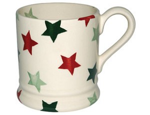 Christmas Star 1/2 Pint Mug
