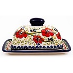 Polish Single Cube Covered Butter Dish 252EX