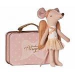 Maileg Mouse, Guardian Angel Suitcase