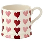 Pink Hearts Stacked Baby Mug
