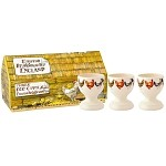 Hen and Toast set/3 Egg Cups