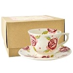 Rose and Bee Small Cup  and  Saucer Boxed