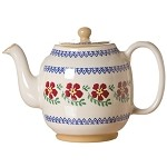Old Rose Teapot