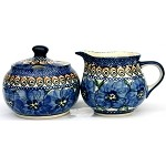 Polish Creamer and Sugar Set 148AR