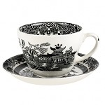 Black Willow Breakfast Cup and Saucer