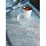 Galerie Des Glaces Argent Tablecloth Green Sweet 68 x 162