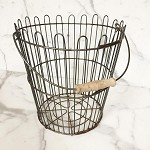 Vintage Found Apple Basket