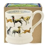 All Over Lurcher 1/2 Pint Mug Boxed