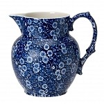 Blue Calico Etruscan Jug Small