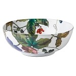Field of Flowers Anemone Vine 10 in Serving Bowl
