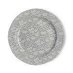 Dove Grey Calico Dinner Plate 10.5 inch