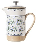 Forget Me Not Large Cafetiere Pot , French Press