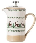 Reindeer Large Cafetiere Pot