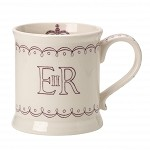 *Burleigh Queen's 90th Footed Mug (Gift Boxed)