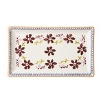 Clematis Med Rectangle Dish