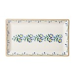 Forget Me Not Med Rectangle Dish