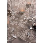Mille Deer 69 x 120 Tablecloth  Brown