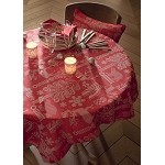 Mille Deer 69 x 120 Tablecloth Red
