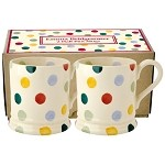 Polka Dot Set/2 1/2 Pint Mug Boxed