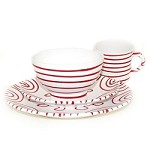 Gmundner Dizzy Red Place Setting