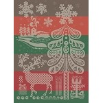 Christmas Deer Kitchen Towel