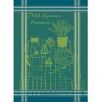 Petit Dej Francais Bleu Kitchen Towel