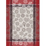 Snowflake Rouge Kitchen Towel