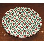 Red Tulip Dinner Plate SECOND