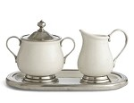 Arte Italica Tuscan Cream & Sugar Set