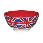 Union Jack Melamine Bowl