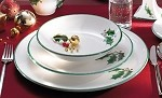 Winterberry Coupe Dinner Plate set/4