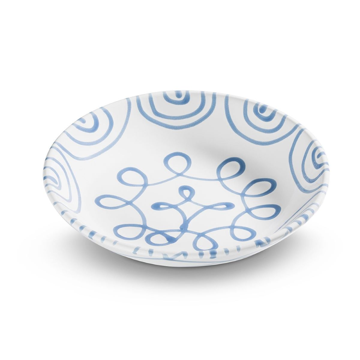 Dizzy Blue Coupe Soup Bowl