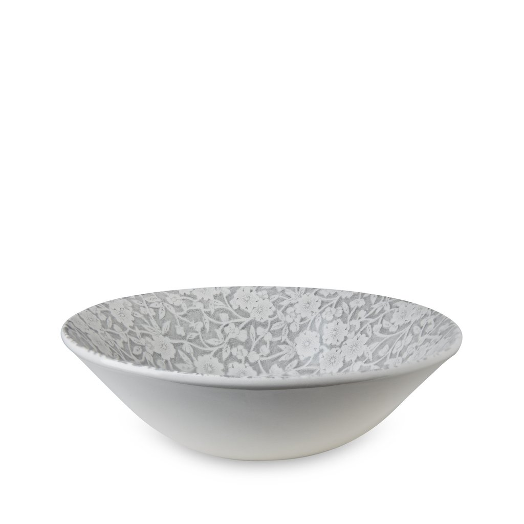 Dove Grey Calico Cereal Bowl 6.25inch-1 available