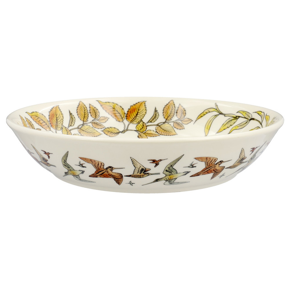 Game Birds Medium Pasta Bowl