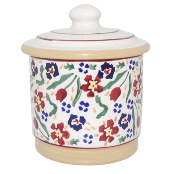Wild Flower Meadow Lidded Sugar Pot