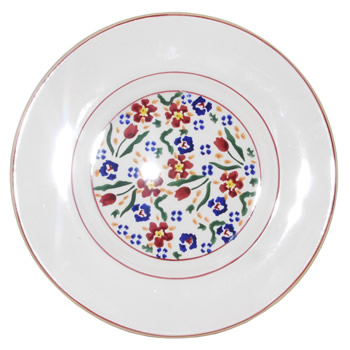 Wild Flower Meadow Lunch Plate-Retired 1 available