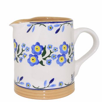 Forget Me Not Small Cylinder Jug