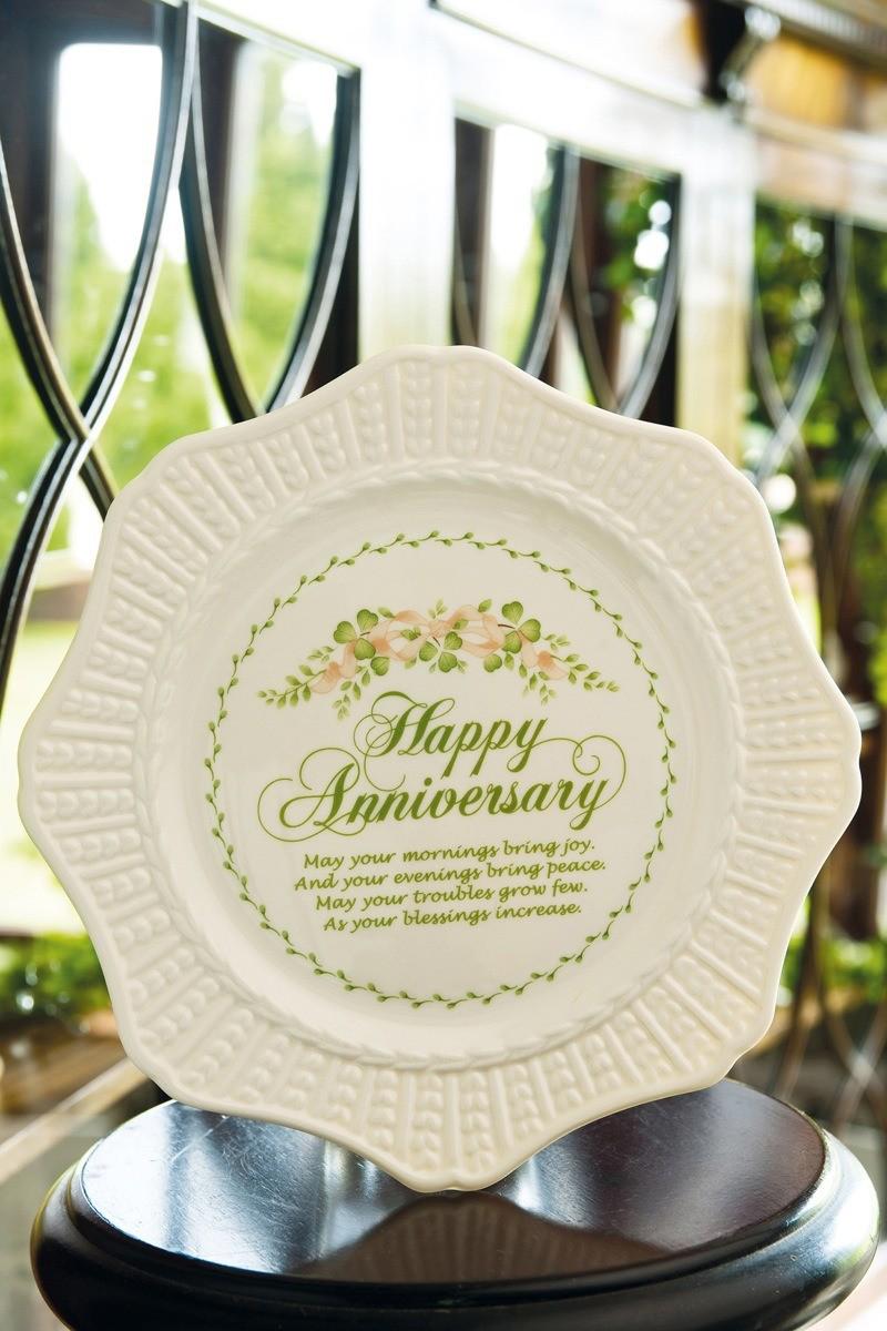 Belleek Anniversary Plate