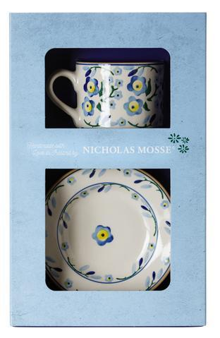 Forget Me Not Boxed Set Cup and Plate