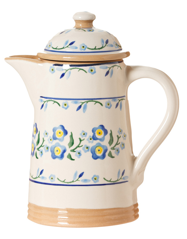 Forget Me Not Coffee Pot -  Retired-2 available