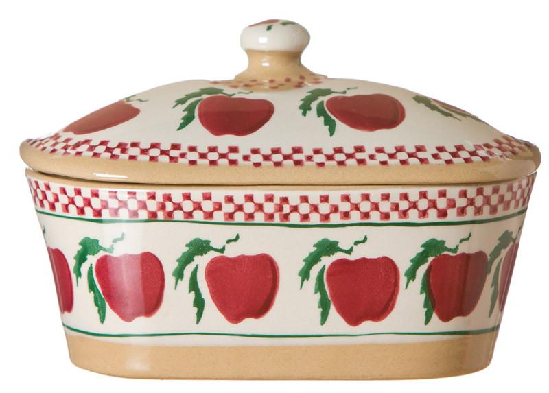 Apple Covered Butterdish