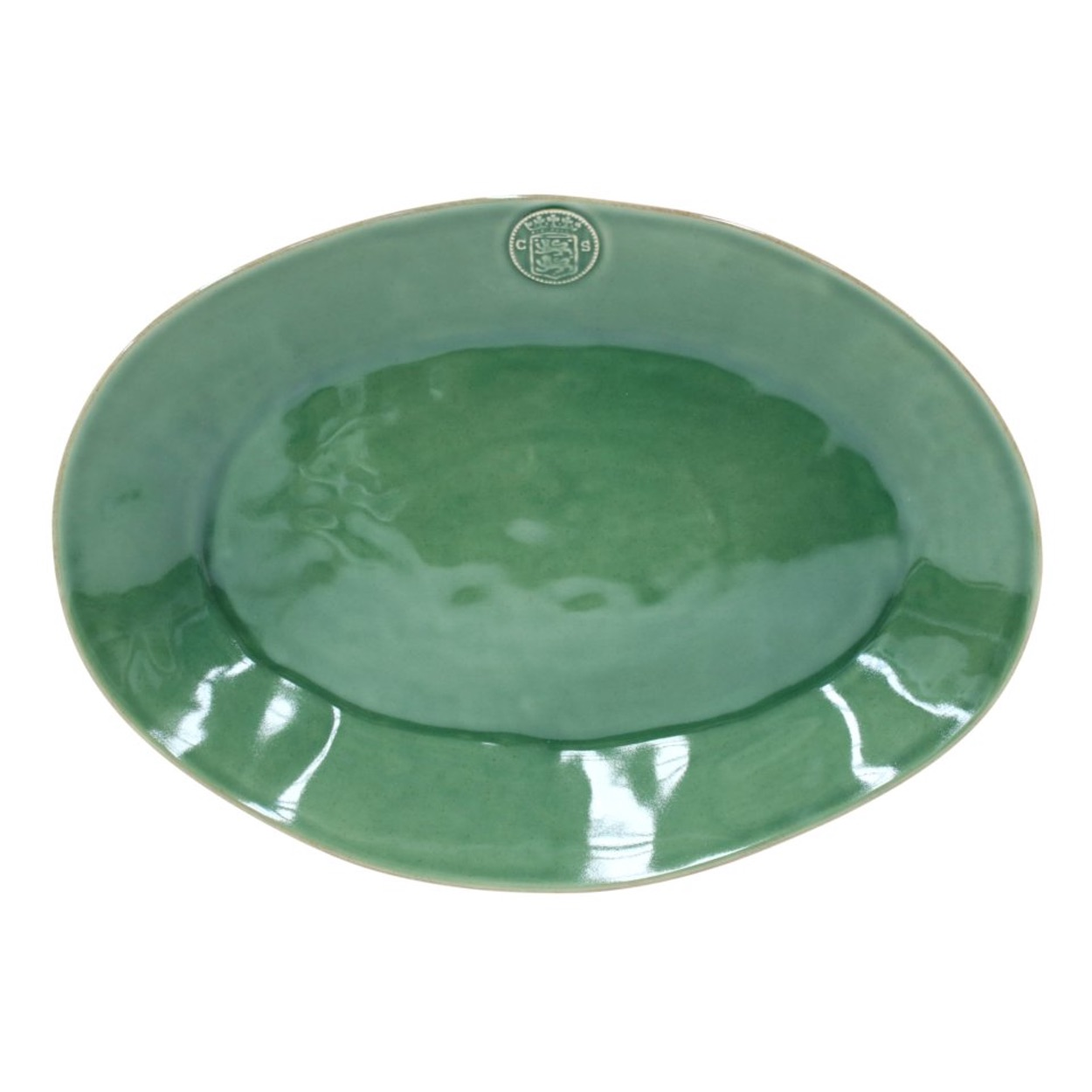 Forum - Forest Green Large oval platter