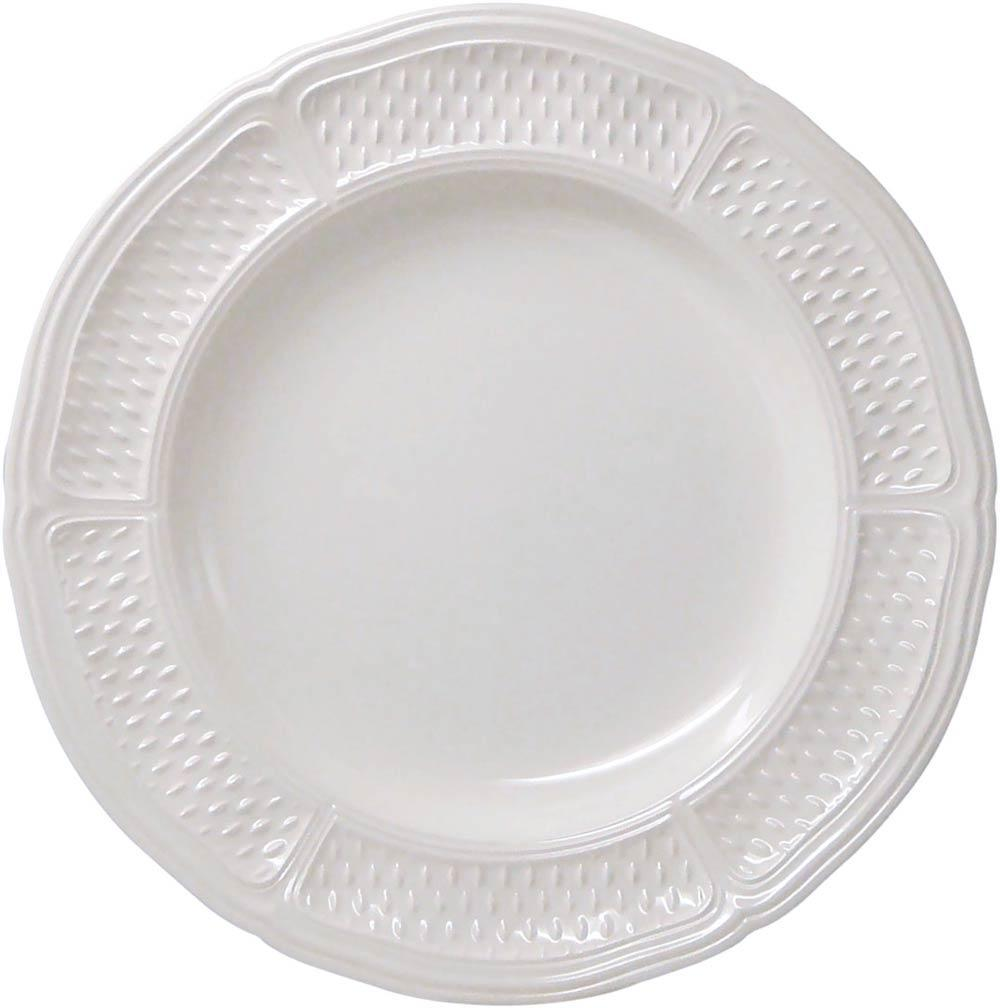 Gien Pont Aux Choux White  Set/4 Dinner Plate