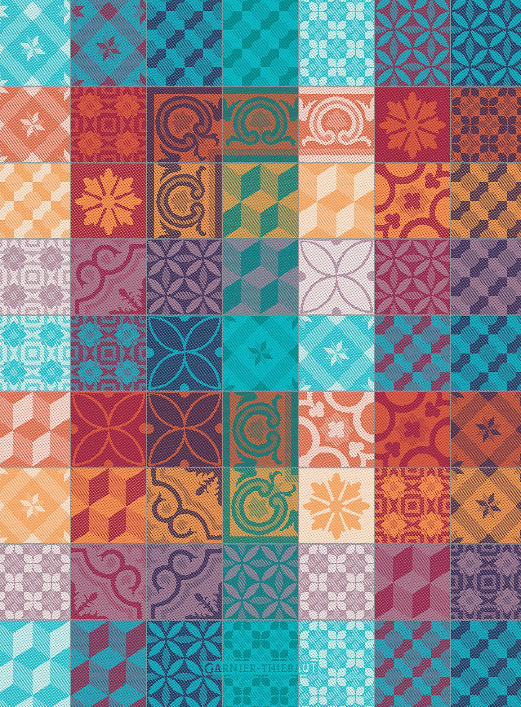 Mille Tiles Multicolore Kitchen Towel 22\