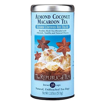 Almond Coconut Macaroon Tea Bags