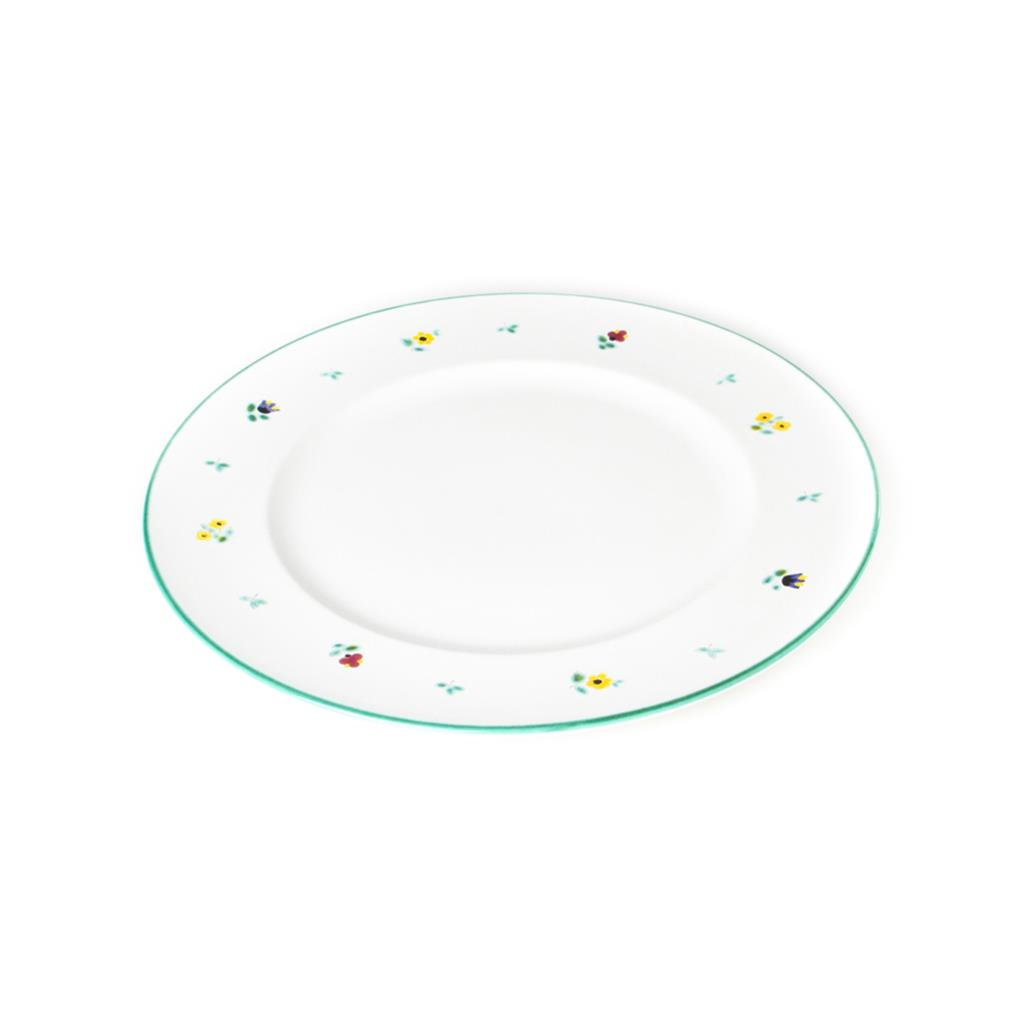 Alpine Flowers Gourmet Dinner Plate 10.6