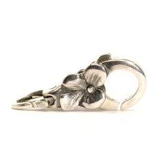 Flower Lock, Silver -1 available