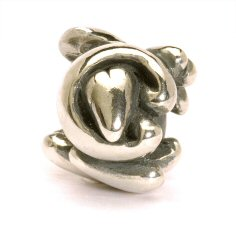 Letter Bead C, Silver  1 available