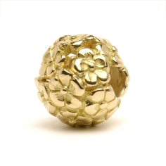 Bouquet Bead, Gold 1 available