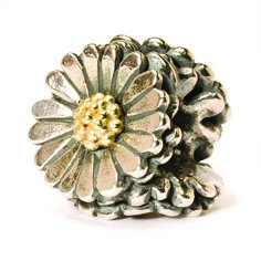 Daisy Bead, Silver and Gold - 1 available